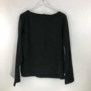 Reformation • Classic Black Long Sleeve Top